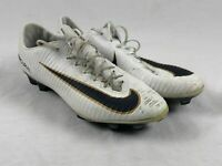 Nike Mercurial Vapor XI FG - White/Navy/Gold Cleats (Men's 12.5) - Used