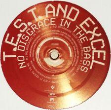 "T.E.S.T. & EXCEL No Disgrace In The Bass 12"" NEW VINYL Exceleration Exzakt Monto"