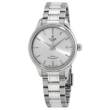 Tudor Style 34mm AUTO sv d SS ss Automatic Silver Unisex Watch 12300-0001