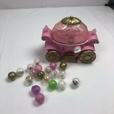 Disney Squinkies Princess Carriage with 19 mixed lot Disney Characters + others