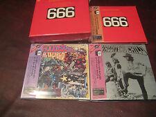 APHRODITE'S CHILD RARE 4 CD Replica  JAPAN OBI LIMITED BOX SET ONE TIME SPECIAL