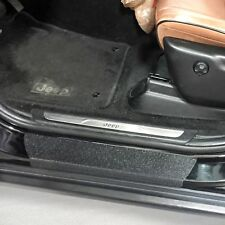 2011-2018 Jeep Grand Cherokee 6pc Door Sill Step Protector Threshold Shield Pads
