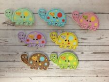 10 Wooden Tortoise Buttons Sewing Card Making Scrapbook Craft Embellishments