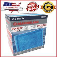 🔥🔥 Rite Size C Filter Cartridge 6-Pack Filter MarineLand Penguin Free Shipping
