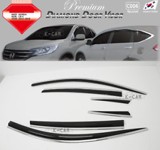 Chrome Rear Lip Spoiler Guard Cover Trim Molding C153 1P for HONDA 2012-16 CR-V