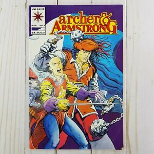 Archer & Armstrong #8, Valiant Comics 1993, The Three Musketeers, VF