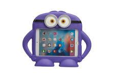 For Apple iPad Mini 1/2/3/4 Kids Cartoon Minions Eyes Silicone Protection Cover