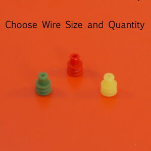 AMP Superseal Wire Seals for 1.5 Series - Wire Sizes from 0.3mmsq to 2.5mmsq