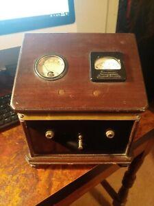 Vintage Weston milliamperes DC Company. Demo box.
