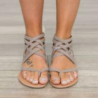 Women Sandals Plus Size Gladiator Sandals For Beach Summer Shoes Woman Rome Flat