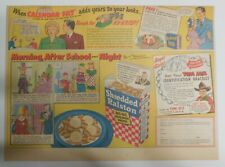"""Ralston Cereal Ad: Tom Mix """"Identification Bracelet"""" 1948 Size:11 x 15 inches"""