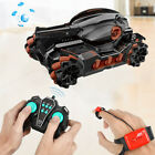 2.4Ghz Water Bomb RC Tank Toy Car Racing with Light Sound Stunt 4WD Toy