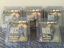The Walking Dead Complete Set Series 2 McFarlane Action Figures In Cases Nice !!