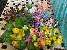 LARGE job lot Artificial steams Bundle Artificial garden Flowers Florist Plants