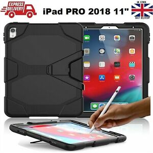 Tough Shockproof Armour Heavy Duty Stand Case Cover For iPad PRO 2018 11 inches