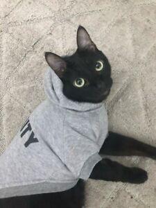 Security Clothes Pet Coats Jacket Hoodies For Cats