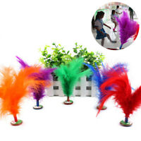 KM_ FT- CO_ AU_ KQ_ 2Pcs Feather Chinese Kick Shuttlecock Kids Toy Sport Exerc