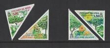 2002 Pitcairn Islands, Trees, SG 632/5 Set of Four, MUH