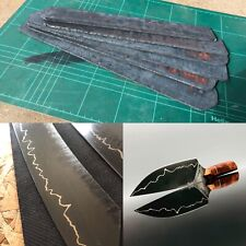 Hand Forged San mai Steel Billet For Knifemaking 1095 Carbon Steel 3x50x300mm