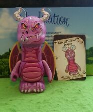 """DISNEY Vinylmation 3"""" Park Set 1 Myths and Legends Dragon Chaser with Card"""