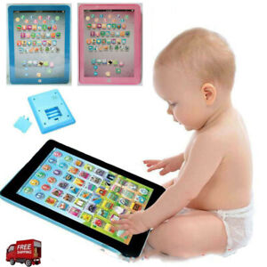 Baby Tablet Educational Toys Girls Toy For Kids Toddler Learning English @I