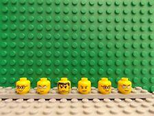 Figura Lego Mini Fig X 6 cabezas nuevo nunca jugado con figuras de Repuestos Ideal