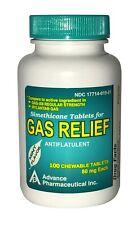Simethicone 80 mg Anti-Gas Generic for Mylanta Mint Chewable 100 Tabs Bottle