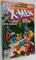 UNCANNY X-MEN #115 CLAREMONT BYRNE   SAURON   VF BUT TOP STAPLE SUNKEN