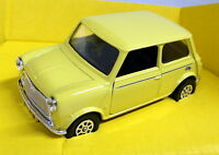 Corgi Models 1/36 Scale C330/9 Classic Mini City Yellow Diecast model car