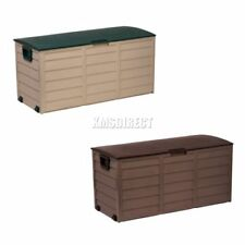 Cajas de almacenaje de patio de plástico para el hogar