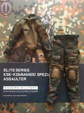 DAMTOYS German KSK Assaulter Flecktarn Camo Shirt & Pants loose 1/6th scale