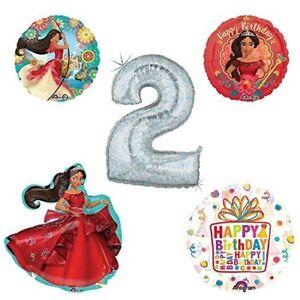 Princess Elena Of Avalor Holographic 2nd Birthday Party Balloon Kit