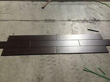 Dark Brown Coffee Timber Look Wood Texture Porcelain Floor Wall Tile 150x900mm