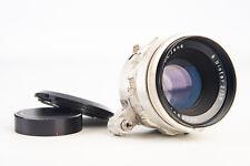 C Z Carl Zeiss Jena Biotar 58mm f/2 Prime Lens with Caps for Exakta Mount V11