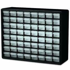 Small Parts Storage Cabinet Drawer Bin Organizer Box 64 Drawers Metal Craft New.