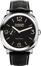 PAM00572 | PANERAI RADIOMIR | BRAND NEW BLACK DIAL 45 MM AUTOMATIC MEN'S WATCH
