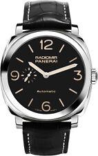 PAM00572 | PANERAI RADIOMIR | BRAND NEW BLACK DIAL 45MM AUTOMATIC MEN'S WATCH