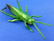 Lot 3 Rubber Katydid iNsect Fake Bugs educational Garden Grasshopper LoCuSt Toy