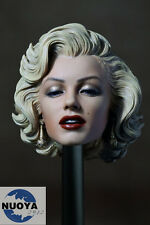 1:6 Scale Marilyn Monroe Head Sculpt Painted For 1/6 Female Phicen Figure Body