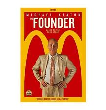 The Founder DVD Movie, Michael Keaton (2016) Biography, NEW