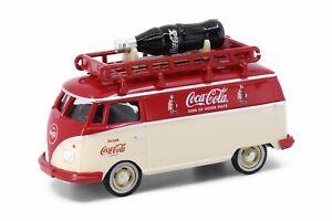 Tiny City Die-cast Model Car - Volkswagen T1 Coca-Cola (with bottle of coke 1950