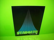 Williams STAR GATE Original 1981 Video Arcade Game Promo Sales Flyer Space Age