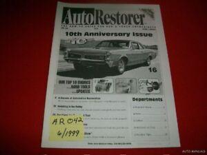 AUTO RESTORER - 10TH ANNIVERSARY ISSUE TOP 10  6/99