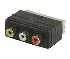 NINTENDO 64 GAMECUBE N64 ADAPTADOR RCA-EUROCONECTOR AUDIO Y VIDEO AV/TV