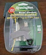 Remington Rem Chokes 20Ga Express Bundle Full & Imp Cylinder & Bonus Wrench New