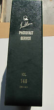 Sams Photofact Manual Binder, Volume 140, Sets 1391-1400, Electronic Schematics