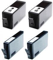 4 364 XL 2x Black+ 2x Photo Black Cartridges For HP Photosmart All in 1 printers