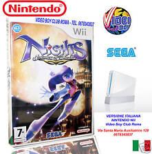 NIGHTS JOURNEY OF DREAMS Wii NUOVO IN ITALIANO NINTENDO