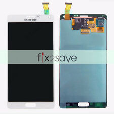White LCD Display Touch Screen Digitizer Replacement Parts Samsung Galaxy Note 4