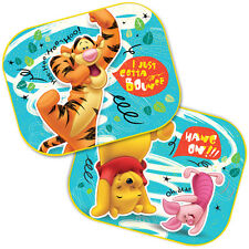 2 x Disney Winnie The Pooh Car Sun Shade UV Baby Children Kids Window Visor 05